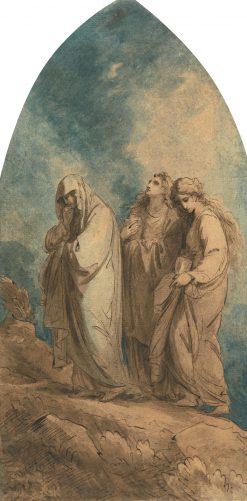 The Three Marys | Benjamin West | Oil Painting