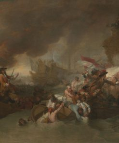 The Battle of La Hogue | Benjamin West | Oil Painting