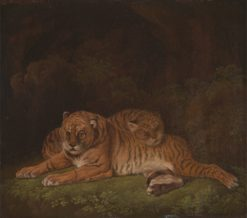 Tigers | Charles Towne | Oil Painting