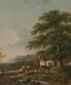 Landscape with a Shepherd | Charles Towne | Oil Painting