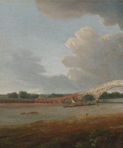 Old Walton Bridge | Charles Towne | Oil Painting