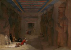 The Hypostyle Hall of the Great Temple at Abu Simbel
