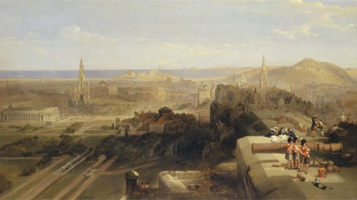 Edinburgh from the Castle | David Roberts | Oil Painting