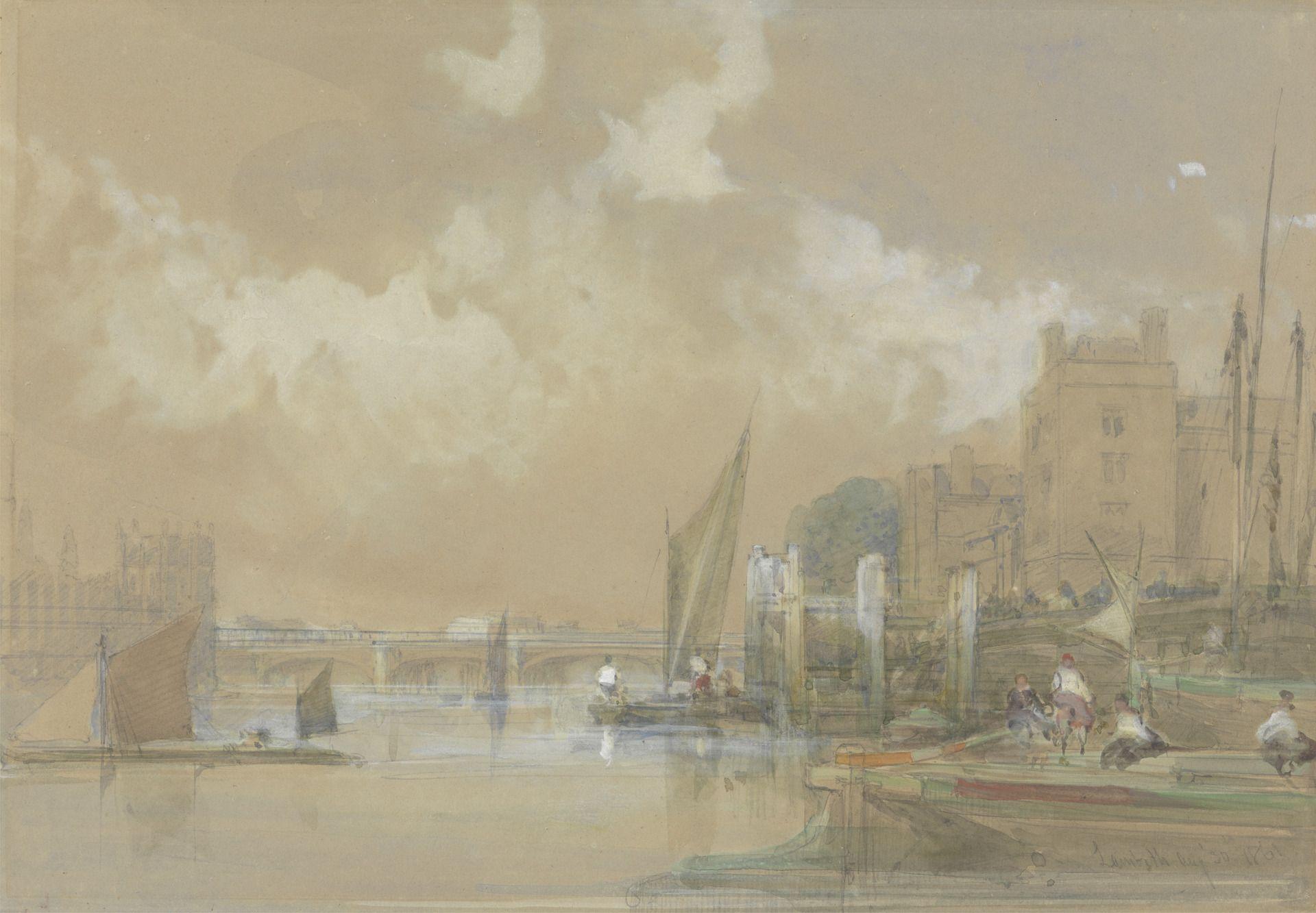 Lambeth | David Roberts | Oil Painting