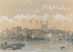 The Tower of London | David Roberts | Oil Painting