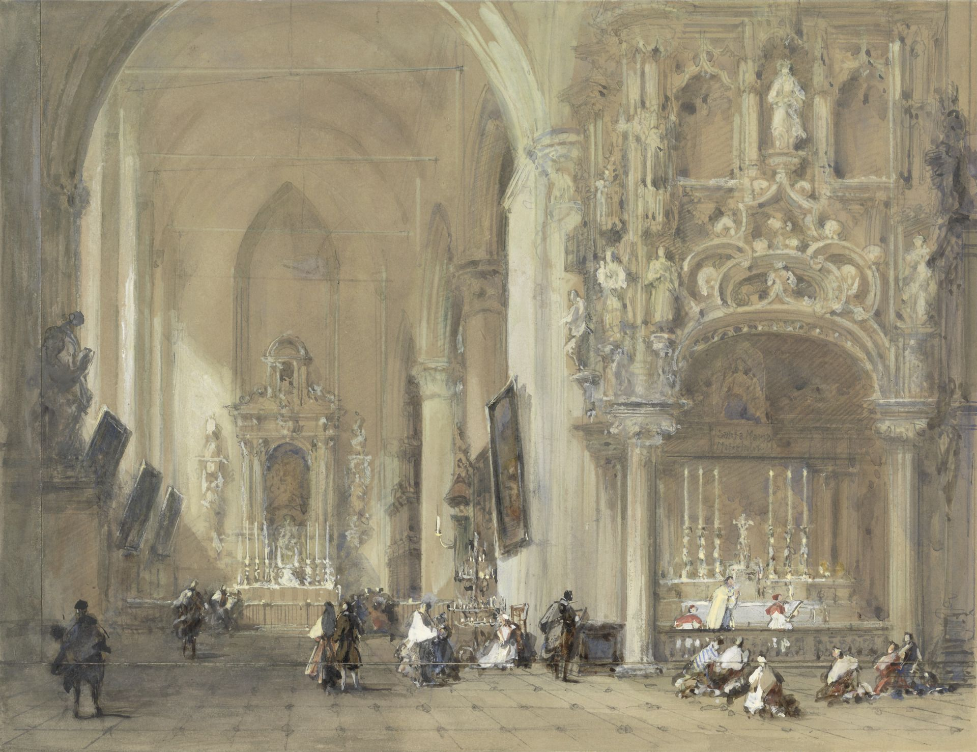 The Church at Dixmude