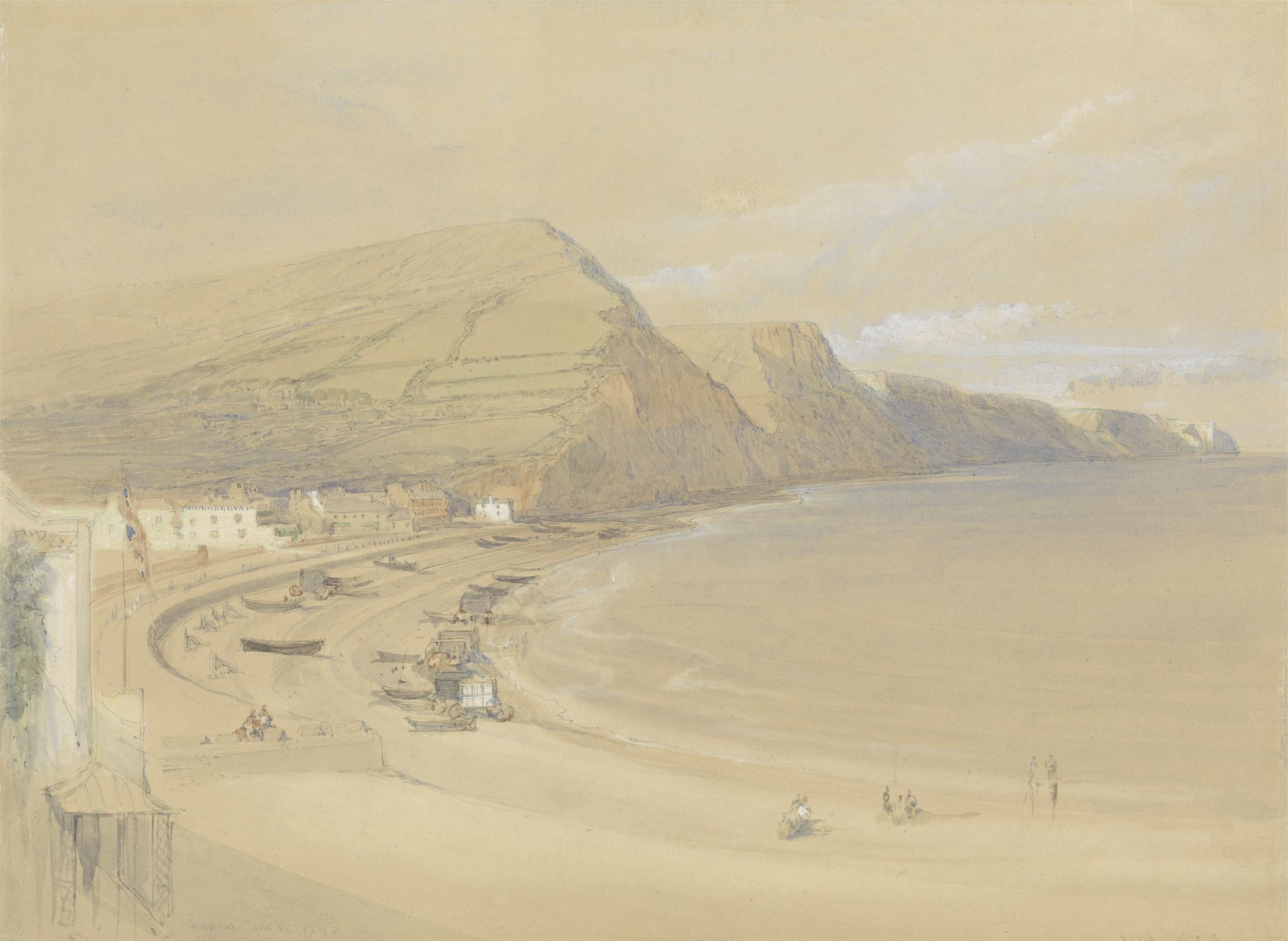 Sidmouth | David Roberts | Oil Painting