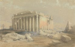 The Temple of Baalbec | David Roberts | Oil Painting