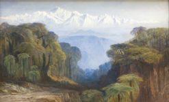 Kinchinjunga | Edward Lear | Oil Painting