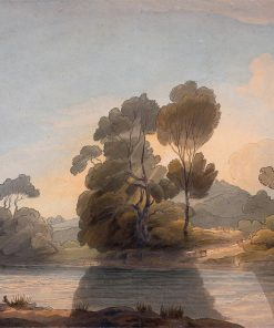 On the Dee | Francis Towne | Oil Painting
