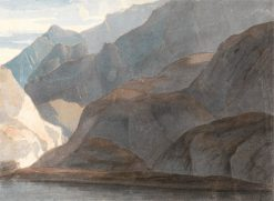On the Lake of Como | Francis Towne | Oil Painting