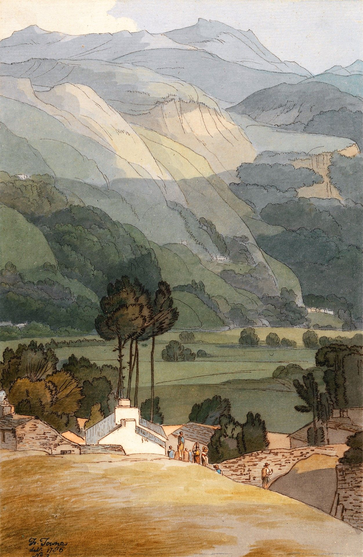 Ambleside | Francis Towne | Oil Painting