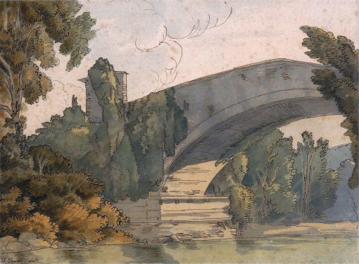 A Bridge Between Florence and Bologna | Francis Towne | Oil Painting