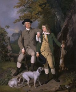 Portrait of a Sportsman with His Son | Francis Wheatley | Oil Painting