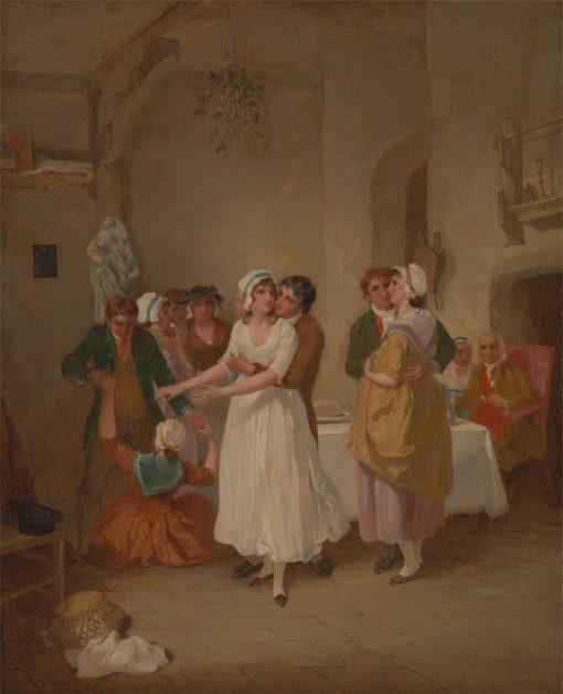 The Mistletoe Bough | Francis Wheatley | Oil Painting