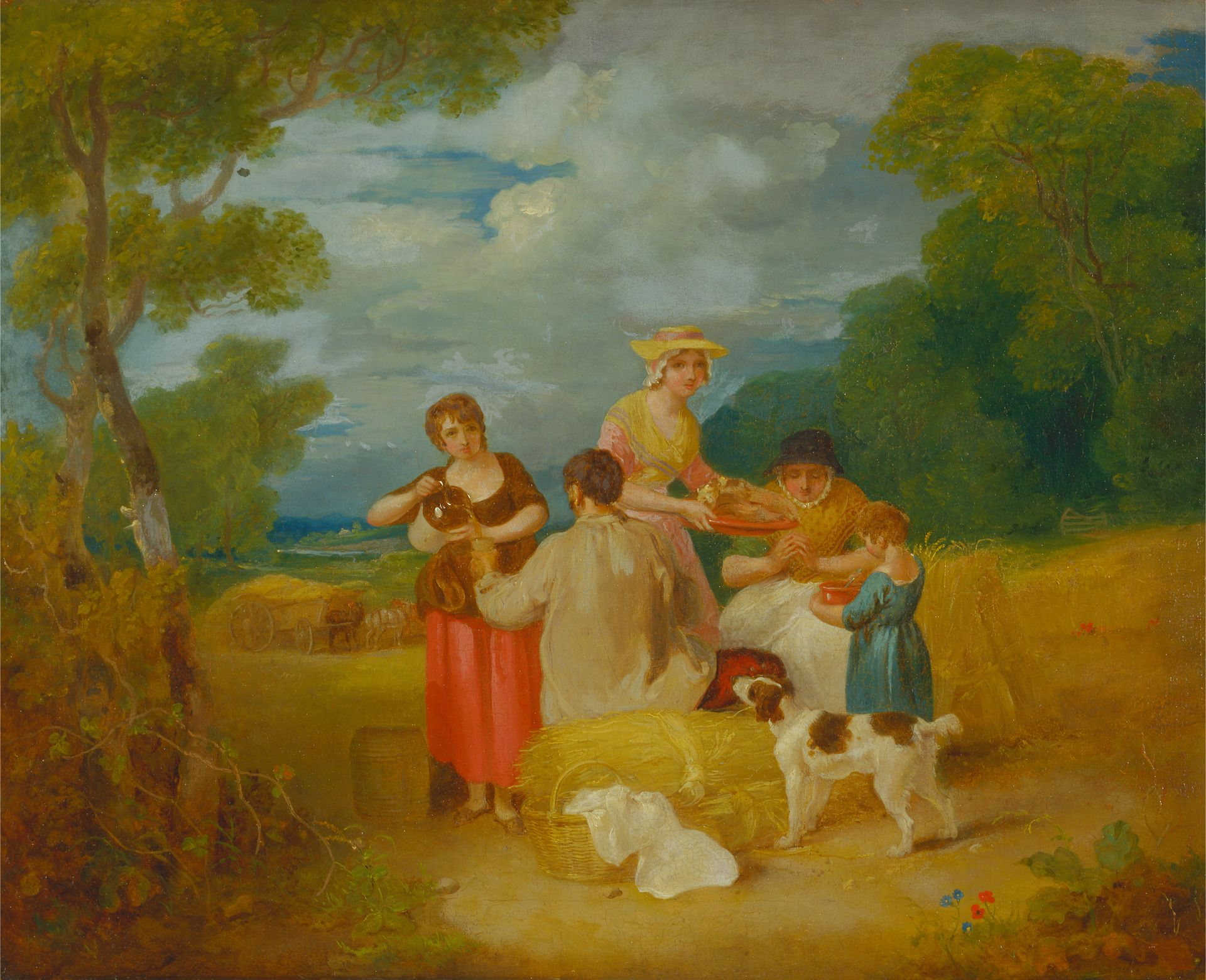 Noon | Francis Wheatley | Oil Painting