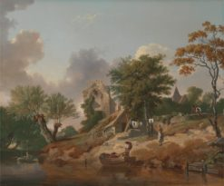 View on the Medway | Francis Wheatley | Oil Painting