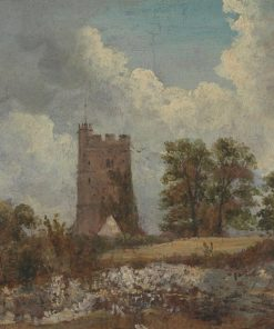 Landscape with a Church | Frederick Waters Watts | Oil Painting