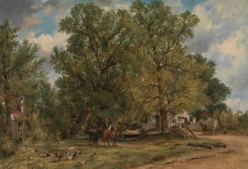 Landscape with Cottages | Frederick Waters Watts | Oil Painting
