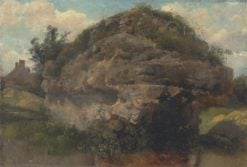 Rocky Hillside | Frederick Waters Watts | Oil Painting