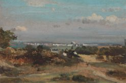 A View in Suffolk | Frederick Waters Watts | Oil Painting