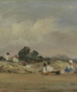 Haymakers Resting | Frederick Waters Watts | Oil Painting