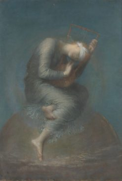 Hope   George Frederic Watts   Oil Painting