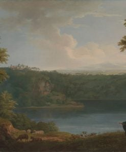 Lake Albano | George Lambert | Oil Painting