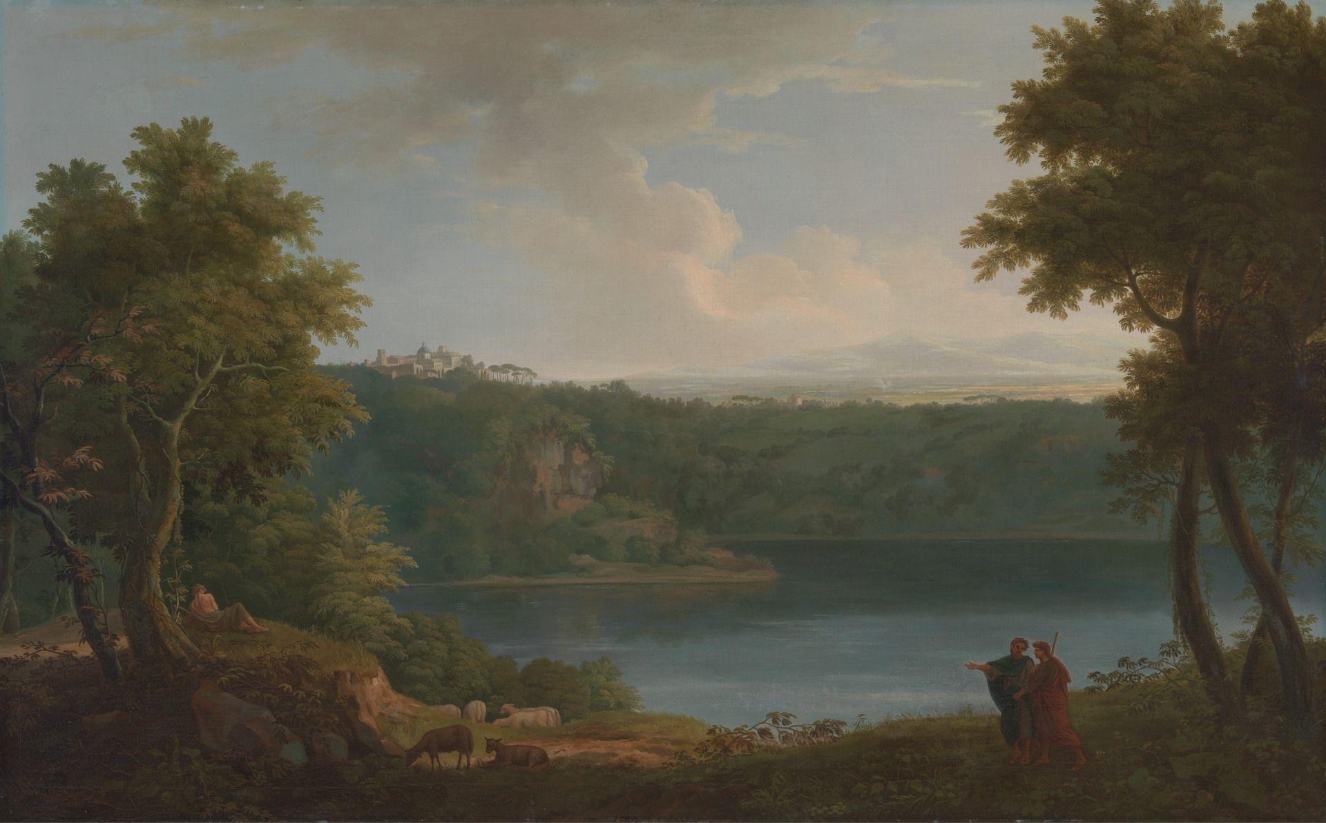 Lake Albano | George Lambert | Oil Painting