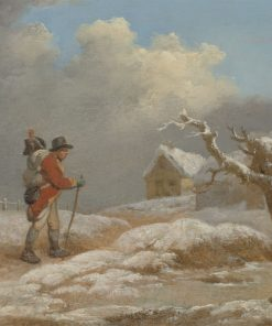 A Soldier's Return | George Morland | Oil Painting