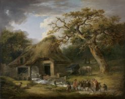 The Old Watermill | George Morland | Oil Painting
