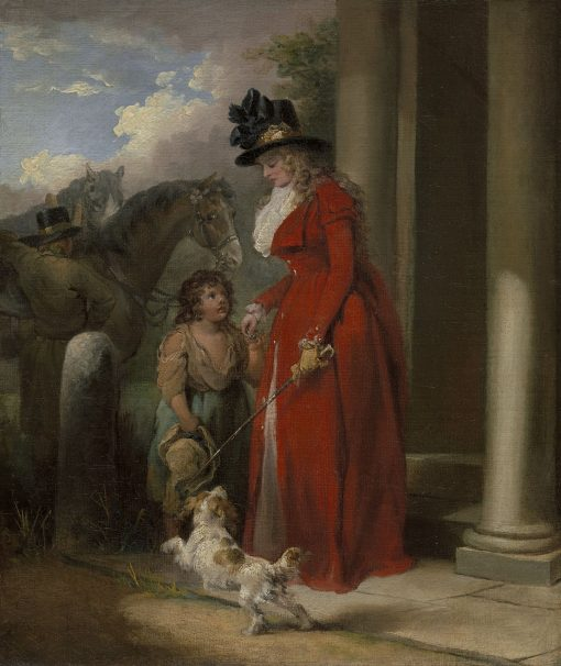 The Squire's Door | George Morland | Oil Painting