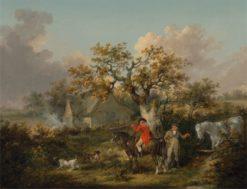 Partridge Shooting | George Morland | Oil Painting