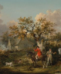 Partridge Shooting | George Morland | Oil Painting