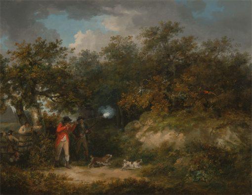 Pheasant Shooting | George Morland | Oil Painting