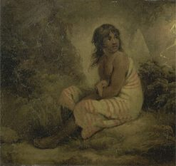 Indian Girl | George Morland | Oil Painting