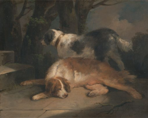 Setters | George Morland | Oil Painting