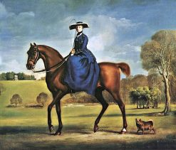 The Countess of Coningsby in the Livery of the Charlton Hunt | George Stubbs | Oil Painting