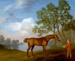 Pumpkin' with a Stable Lad | George Stubbs | Oil Painting