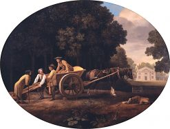 Labourers | George Stubbs | Oil Painting