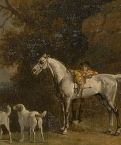 Studies for 'The 3rd Duke of Richmond with the Charleton Hunt' | George Stubbs | Oil Painting