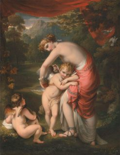 Venus and Cupid | Henry Howard | Oil Painting