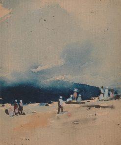Along the Shore   Hercules Brabazon Brabazon   Oil Painting