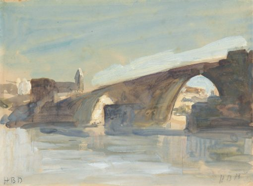A Bridge | Hercules Brabazon Brabazon | Oil Painting