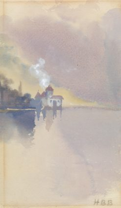 Chateau de Chillon | Hercules Brabazon Brabazon | Oil Painting