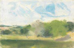 View at Oaklands | Hercules Brabazon Brabazon | Oil Painting