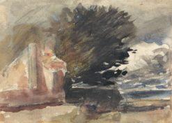 Cottage under a Tree | Hercules Brabazon Brabazon | Oil Painting