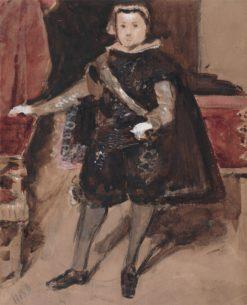 The Infant Balthasar Carlos | Hercules Brabazon Brabazon | Oil Painting