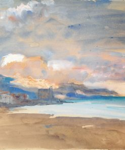 View of Nice | Hercules Brabazon Brabazon | Oil Painting