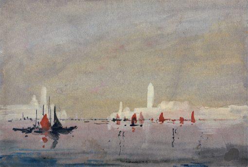 Venice from the Lagoon | Hercules Brabazon Brabazon | Oil Painting